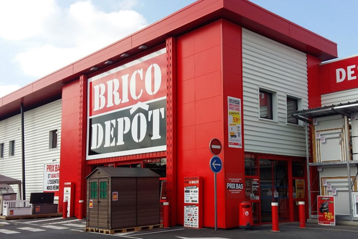 Magasin Brico Dépôt, Harly (02)